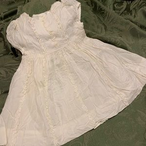 GAP-Beautiful Ivory Dress 6-12 Months